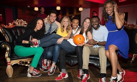 Two Hours of Bowling and Shoe Rentals for Two, Four, or Six Guests at Bowlero (Up to 63% Off)