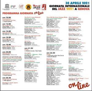 programma Internatiional Jazz Day