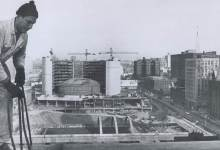 Construção do prédio novo da Câmara Municipal de Toronto - 1964