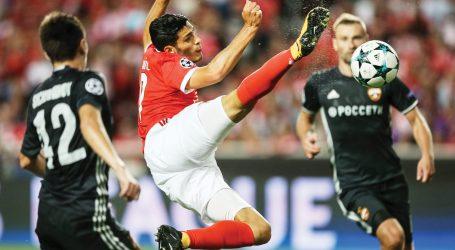 Champions: Benfica, 1 – CSKA Moscovo, 2.