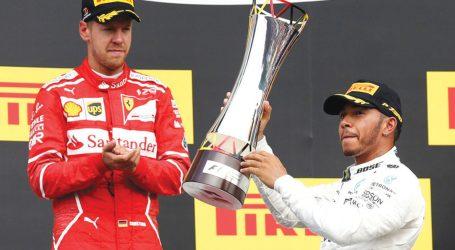 Hamilton vence GP da Bélgica e reduz distâncias para Vettel