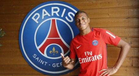 Mbappé é reforço do PSG