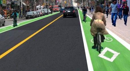 Bike lanes one step closer to permanent residency on Bloor Street