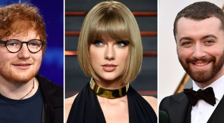 Swift, Smith and Sheeran slated to take stage at iHeartRadio Jingle Ball tour