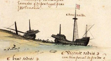 Astrolábio da frota de Vasco da Gama encontrado ao largo de Omã