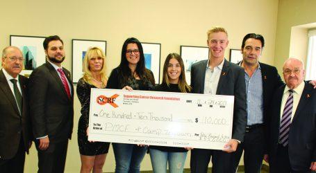 Fundação SCRF entrega 110 mil  dólares para luta contra o cancro