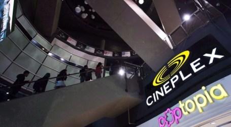 Cineplex reporta as vendas do terceiro trimestre com queda nos lucros