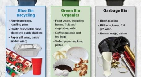 A sua resolução de Ano Novo inclui uma reciclagem adequada? A cidade espera que sim