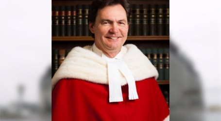 Trudeau nomeia Richard Wagner como presidente do Supremo Tribunal