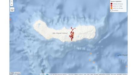 Açores: Centenas de sismos registados em São Miguel