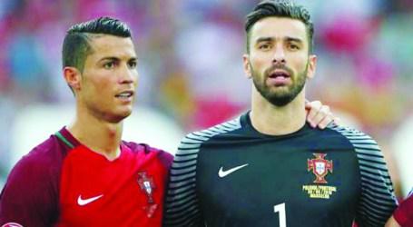 Cristiano Ronaldo, Rui Patrício e Bernardo Silva candidatos  a jogador do ano
