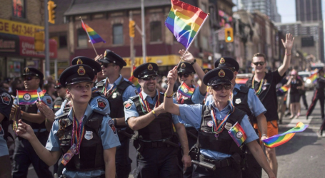Toronto police withdrawing application to participate in Pride Parade