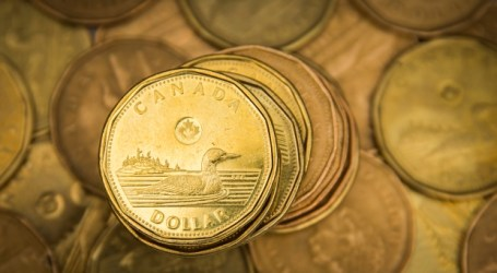 Canadian dollar lower after Trump attacks Trudeau over tariffs