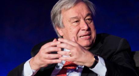 Guterres diz que mundo está a perder batalha contra poluição dos oceanos