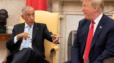 Marcelo e Trump discutiram despesa de Portugal com a NATO