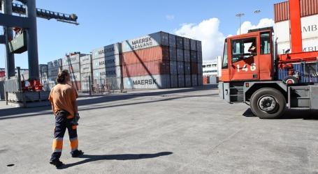 Exportações aumentam 18,1% em Portugal