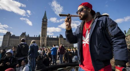 Canadians will be able to legally puff pot starting Oct. 17