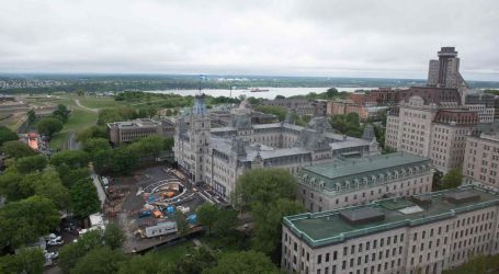 G7 protests in Quebec City force closure of national assembly