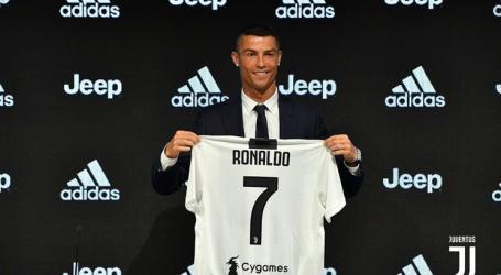Cristiano Ronaldo já foi apresentado