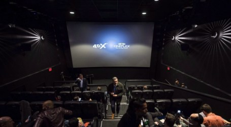 Cineplex signs 4DX deal to expand the technology across the country