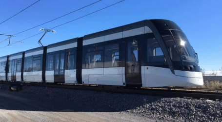 Get your first look at the new Eglinton Crosstown LRT vehicles in action