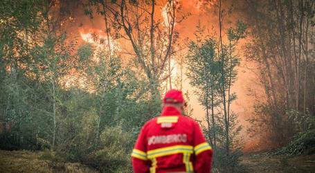 Há 13 distritos em alerta vermelho de incêndio