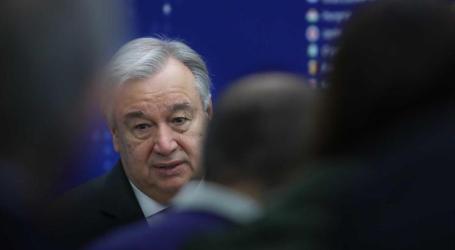 Guterres avisa países para seguir normas e proteger refugiados