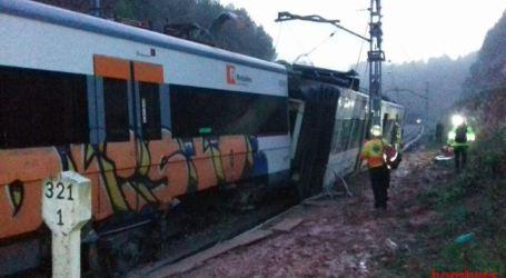 Pelo menos um morto e cinco feridos num descarrilamento de comboio em Barcelona