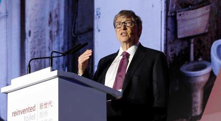Bill Gates apresenta sanita que não precisa de água ou saneamento