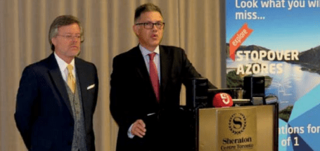 Presidente da SATA reúne com agentes de viagens no Canadá