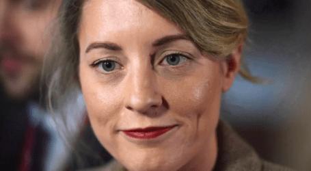 Tourism Minister Mélanie Joly no longer heading to China next week