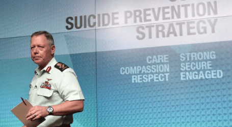 Military reports 15 suicides in 2018 despite new prevention strategy