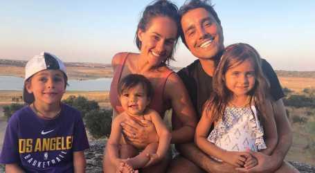 Esposa de Ricardo Pereira rendida ao Brasil