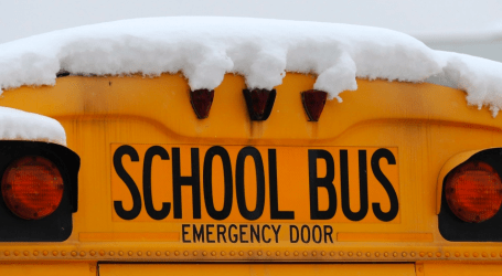 School bus cancellations for this Monday