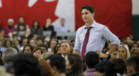 Trudeau takes aim at Ford over possible kindergarten cuts as campaign-style rhetoric heats up