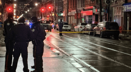 Man killed in overnight shooting at Queen and Parliament