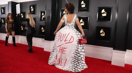 A extravagância das estrelas da música na passadeira vermelha dos Grammy