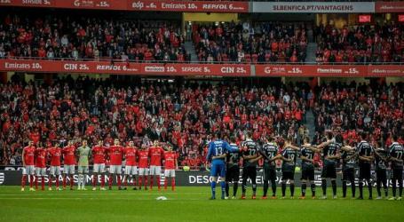 Luz interditada quatro jogos mas Benfica interpõe providência cautelar