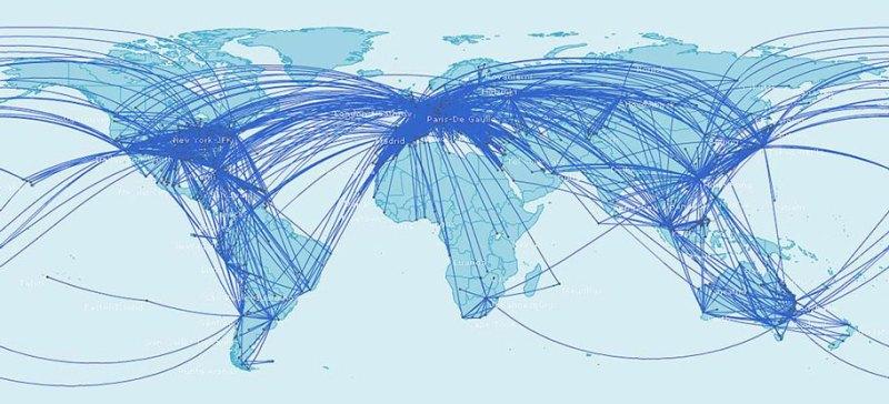 Oneworld Routes