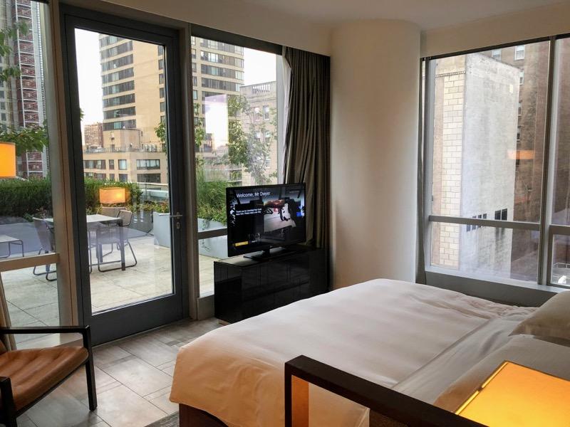 Park Hyatt New York Terrace Suite