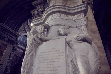 Kirche Santa Maria del Popolo, Italien, Rom, Reiseblog, Reiseblogger, reisen, Urlaub, Inspiration, Statue, Kunst,
