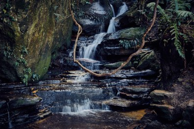 Bach, river, Katoomba Falls Trail, Blue Mountains, Sydney, things to do, mountains, Miles and Shores, Reiseblog
