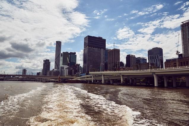 Brisbane, Cityscape, city, Stadt, cityview, Städtereise, Städtetrip, river, rivercruise, tour, Wassertaxi, watertaxi, hop on hop of, free, gratis