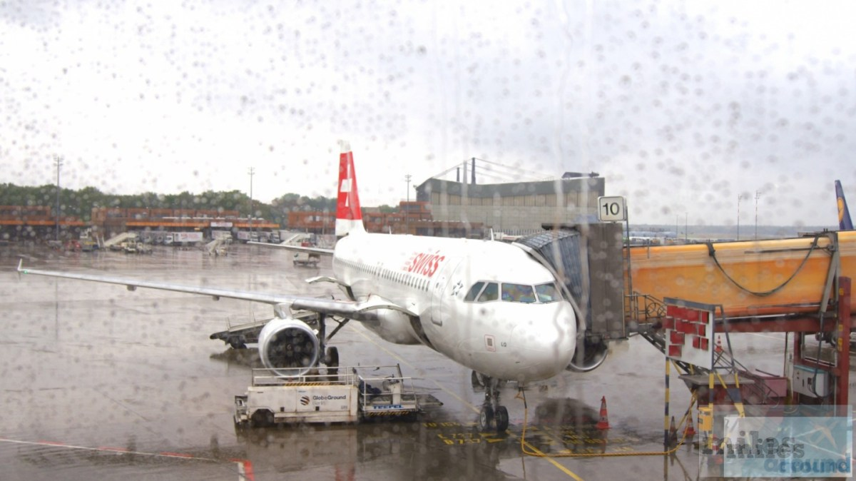 Airbus A320-200 SWISS Economy Class, Berlin do Nicea