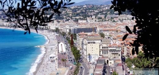 Blick vom Castle Nice - Nizza