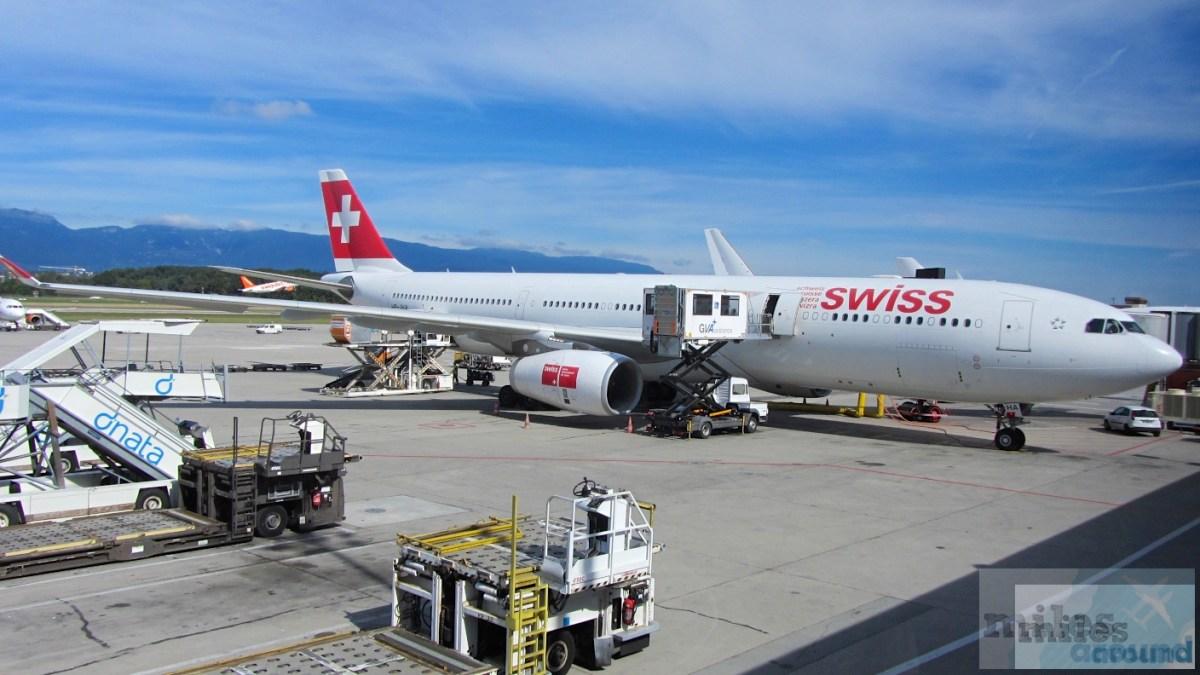 SWISS Airbus A330-300 Economy Class, Genf nach New York