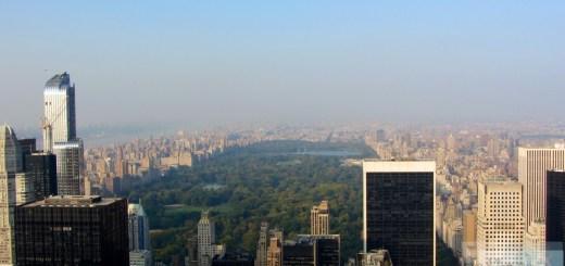 Vista dal Rockefeller Center a Central Park