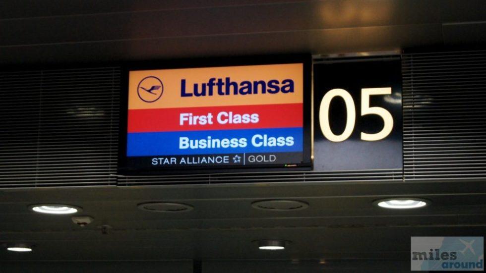 First Class Check-In Schalter (Leipzig)