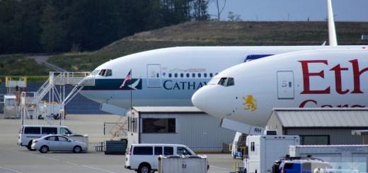 Boeing 777 - Cathay Pacific Cargo und Etihad