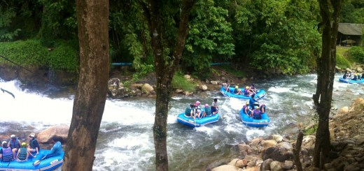 Rafting in Phang-Nga